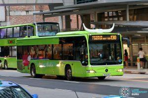 Bus 130 - SBS Transit Mercedes-Benz Citaro (SG1100B)