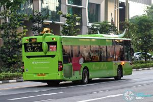 Bus 130 - SBS Transit Mercedes-Benz Citaro (SG1100B) - Rear