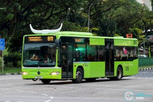 Bus 811 - SBS Transit Mercedes-Benz Citaro (SG1111U)