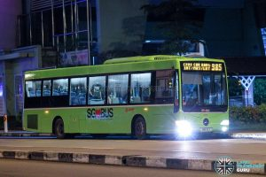 Bus 985 - SMRT Buses Mercedes-Benz OC500LE (SMB112X)