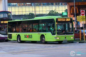 Bus 293T - SBS Transit Mercedes-Benz Citaro (SG1124H)