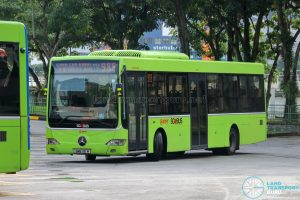 Bus 985 - SMRT Buses Mercedes-Benz OC500LE (SMB115M)