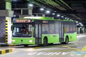 Bus 24 - SBS Transit Mercedes-Benz Citaro (SG1159H)