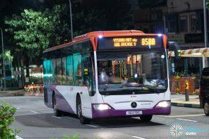 Bus 858A - SMRT Buses Mercedes-Benz Citaro (SG1178C)
