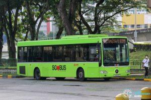 Bus 853 - SMRT Buses Mercedes-Benz OC500LE (SMB118E)
