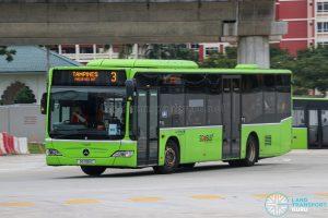 Bus 3 - Go-Ahead Singapore Mercedes-Benz Citaro (SG1195C)