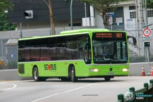 Bus 191 - SBS Transit Mercedes-Benz Citaro (SG1208A)