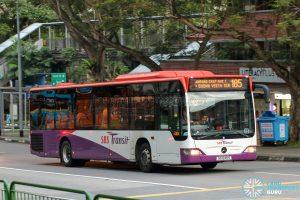 Bus 185 - SBS Transit Mercedes-Benz Citaro (SG1245S)