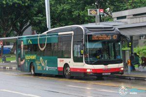 Bus 67 - SMRT Buses MAN A22 (SMB1309P)