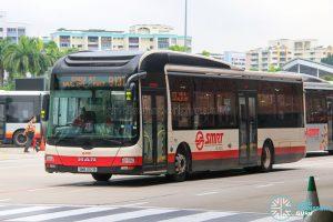 Bus 913T - SMRT Buses MAN A22 (SMB1317R)