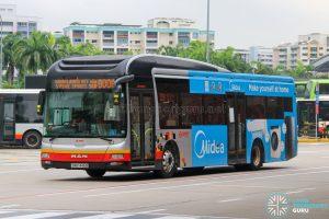 Bus 900A - SMRT Buses MAN A22 (SMB1446B)