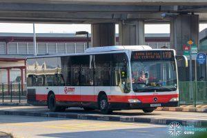 Bus 178 - SMRT Buses Mercedes-Benz Citaro (SMB145B)