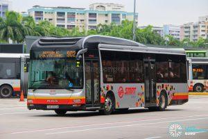 Bus 902 - SMRT Buses MAN A22 (SMB1450M)