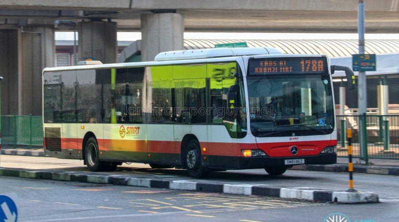 Bus 178A - SMRT Buses Mercedes-Benz Citaro (SMB146Z)