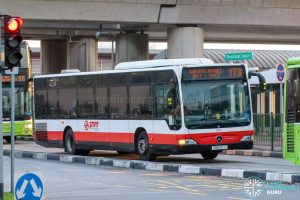 Bus 178 - SMRT Buses Mercedes-Benz Citaro (SMB147X)