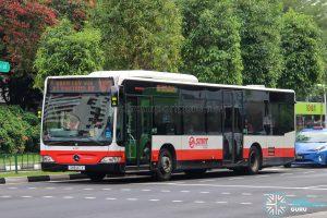 Bus 187 - SMRT Buses Mercedes-Benz Citaro (SMB147X)