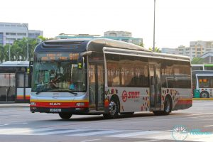 Bus 911T - SMRT Buses MAN A22 (SMB1546X)