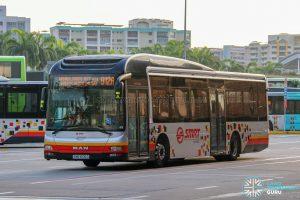 Bus 912A - SMRT Buses MAN A22 (SMB1606G)