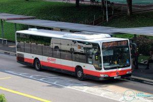 Bus 187 - SMRT Buses Mercedes-Benz Citaro (SMB164X)