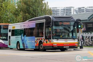 Off Service - SMRT Buses MAN A22 (SMB1641D)