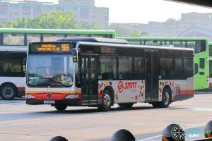 Bus 965 - SMRT Buses Mercedes-Benz Citaro (SG1694D)