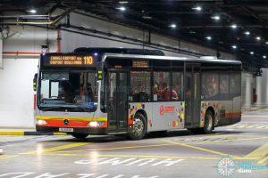 Bus 110 - SMRT Buses Mercedes-Benz Citaro (SG1699R)