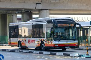 Bus 966 - SMRT Buses MAN A22 (SG1708Z)