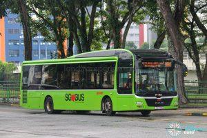 Bus 980 - SMRT Buses MAN A22 (SG1714E)