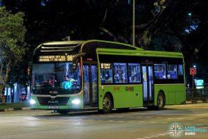 Bus 981 - SMRT Buses MAN A22 (SG1718U)