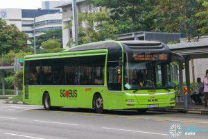 Bus 980 - SMRT Buses MAN A22 (SG1726X)