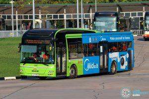 Bus 981 - SMRT Buses MAN A22 (SG1735U)