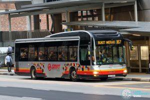 Bus 167 - SMRT Buses MAN A22 (SG1740D)