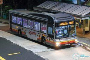 Bus 965T - SMRT Buses MAN A22 (SG1744T)
