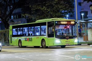 Bus 980 - SMRT Buses MAN A22 Euro 6 (SG1752U)