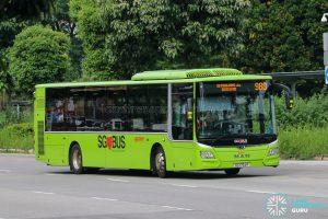 Bus 980 - SMRT Buses MAN A22 Euro 6 (SG1754P)