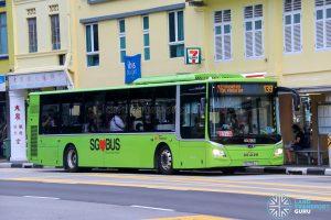 Bus 139 - SBS Transit MAN A22 Euro 6 (SG1756J)