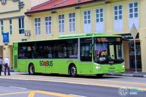 Bus 139 - SBS Transit MAN A22 Euro 6 (SG1759B)