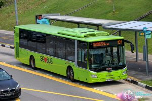 Bus 151 - SBS Transit MAN A22 Euro 6 (SG1766E)
