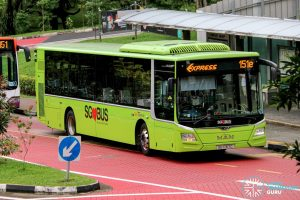 Express 151e - SBS Transit MAN A22 Euro 6 (SG1767C)