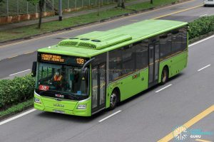 Bus 139 - SBS Transit MAN A22 Euro 6 (SG1786Y)