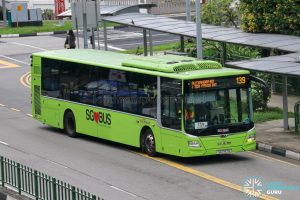 Bus 139 - SBS Transit MAN A22 Euro 6 (SG1787U)