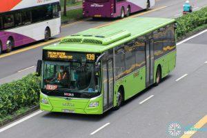 Bus 139 - SBS Transit MAN A22 (SG1789P)