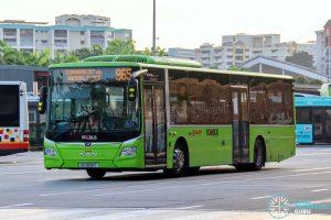 Bus 965 - SMRT Buses MAN A22 Euro 6 (SG1808T)