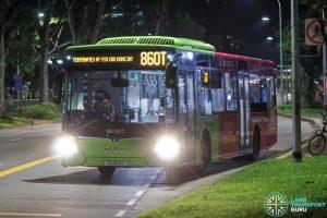Bus 860T - SBS Transit MAN A22 Euro 6 (SG1813C)