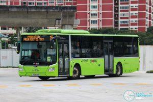 Bus 15 - Go-Ahead Singapore MAN A22 Euro 6 (SG1841X)