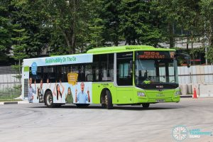 Bus 15 - Go-Ahead Singapore MAN A22 Euro 6 (SG1843R)