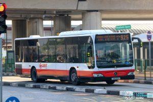 Bus 925 - SMRT Buses Mercedes-Benz Citaro (SMB186H)