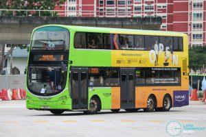 Bus 6 - Go-Ahead Singapore Volvo B9TL Wright (SBS2X)