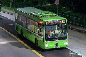 Bus 853 - SMRT Buses Mercedes-Benz OC500LE (SMB20C)