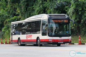 Bus 963 - SMRT Buses MAN A22 (SMB227Z)
